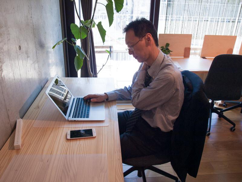 パソコン作業が多くて、肩から背中にかけて、山のようなコリができる