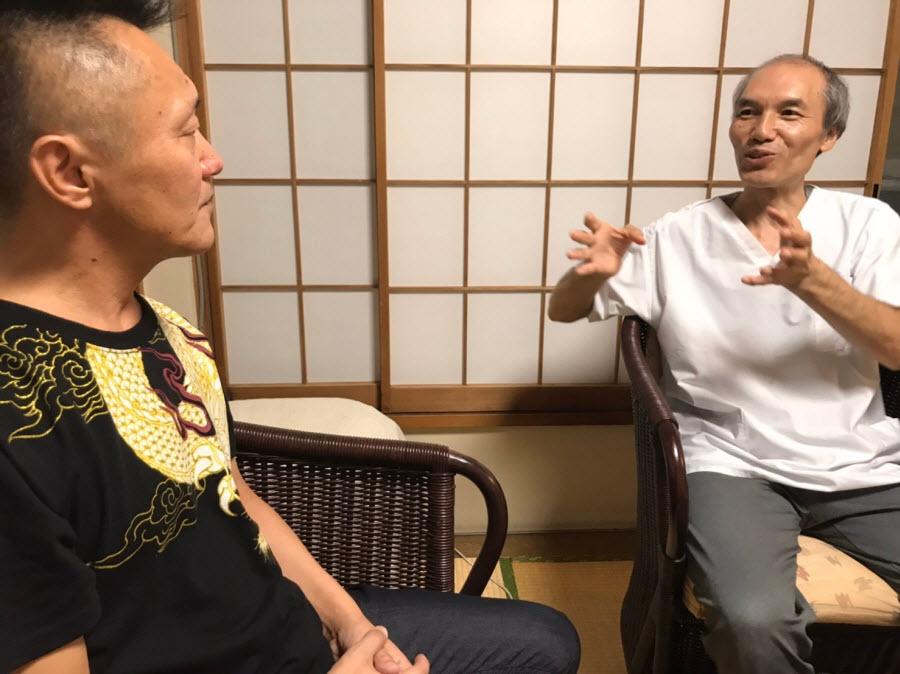 稲吉さんと角谷院長
